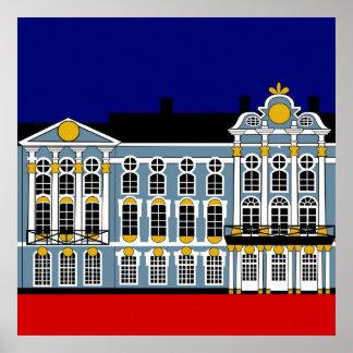 キャサリンの宮殿のインスピレーション-セント・ピーターズバーグ ポスター