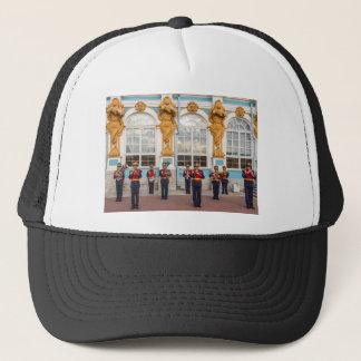 キャサリンの素晴らしい宮殿のTsarskoye Seloのブラスバンド キャップ