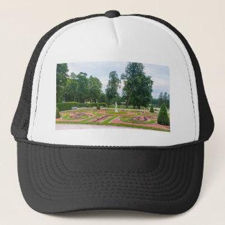 キャサリンの素晴らしい宮殿のTsarskoye Seloの庭 キャップ
