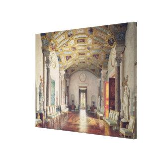 キャサリン宮殿の素晴らしい瑪瑙ホール キャンバスプリント