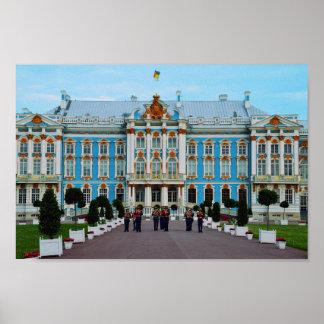 キャサリン宮殿、ロシアへの歓迎 ポスター