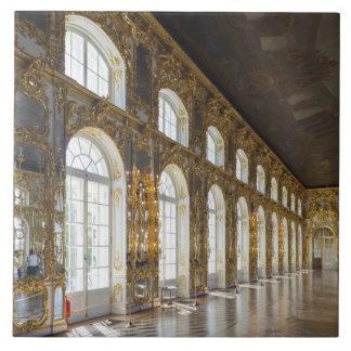 キャサリン宮殿、大広間の詳細 タイル