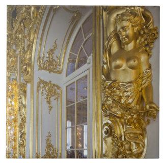 キャサリン宮殿、大広間2の詳細 タイル
