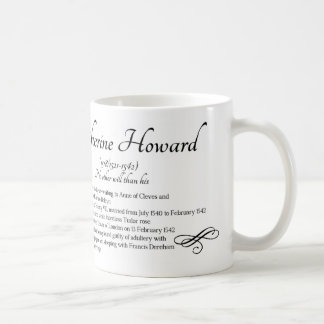 キャサリン・ハワードのマグ コーヒーマグカップ