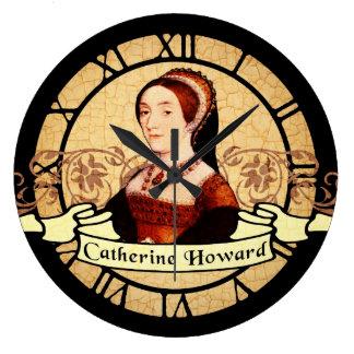 キャサリン・ハワード ラージ壁時計