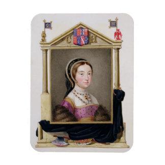 キャサリン・ハワード(c.1520-d.1542)のポートレート第5 Q マグネット