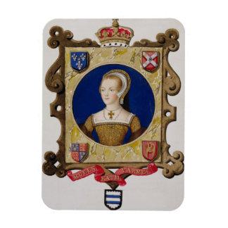 キャサリン・パーの(1512-48年の)第6女王のポートレートの マグネット