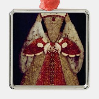 キャサリン・パー1545年のポートレート メタルオーナメント