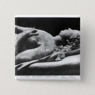 キャサリンde Mediciおよびアンリーの墓II 5.1cm 正方形バッジ