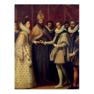 キャサリンde Mediciの結婚 ポストカード