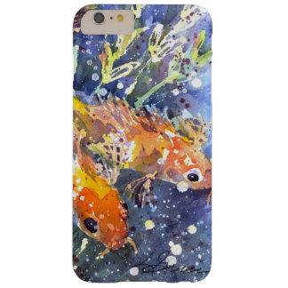キャサリーンGasparin著コイの池の水彩画 Barely There iPhone 6 Plus ケース