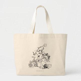 キャスパーのクリスマスツリー ラージトートバッグ