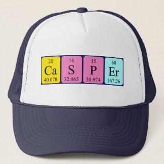 キャスパーの周期表の名前の帽子 キャップ