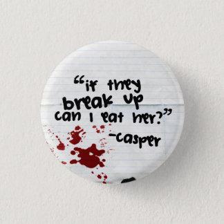 キャスパーの引用文1 3.2CM 丸型バッジ