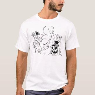 キャスパーハロウィンのくもの恐怖 Tシャツ