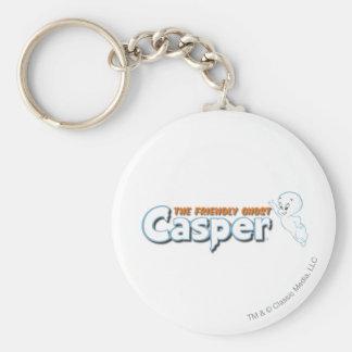 キャスパー友好的な幽霊のロゴ1 キーホルダー