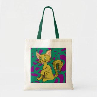 キャスパー猫 トートバッグ