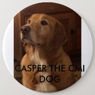 キャスパーCMI犬 15.2CM 丸型バッジ