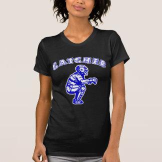 キャッチャーのアーチ、blue2 tシャツ