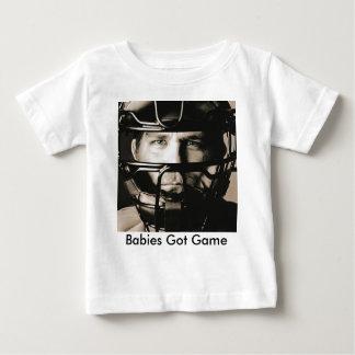 キャッチャー ベビーTシャツ
