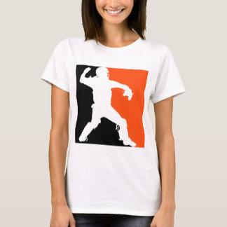 キャッチャー、3色BWO Tシャツ