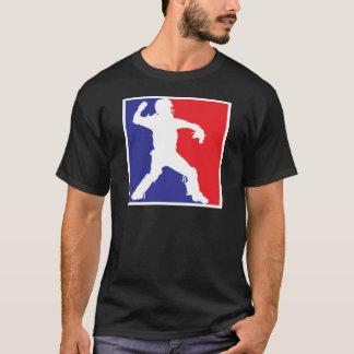 キャッチャー、3色RWB2 Tシャツ