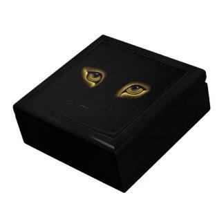 キャッツ・アイの大きい正方形のタイルのギフト用の箱の金ゴールド ギフトボックス