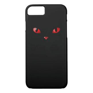 キャッツ・アイの赤のやっとそこにiPhone 7の場合 iPhone 8/7ケース