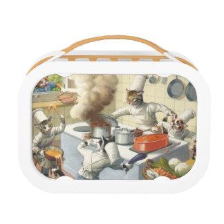 キャットウォークの台所大災害-オレンジ ランチボックス