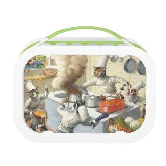 キャットウォークの台所大災害-緑 ランチボックス