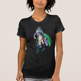 キャットウーマンの立場 Tシャツ