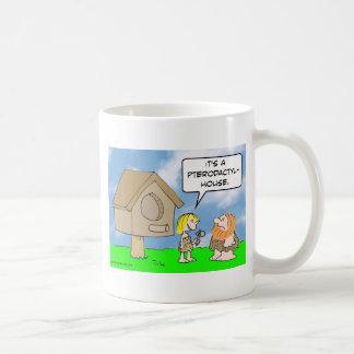 キャットウーマンの造りのpterodactylの家 コーヒーマグカップ