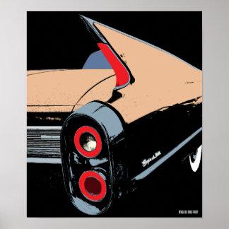 キャデラックのひれ- 1962年 ポスター