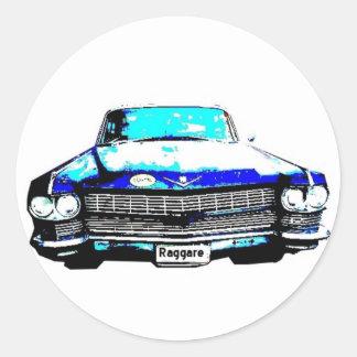 キャデラックのraggare車 ラウンドシール