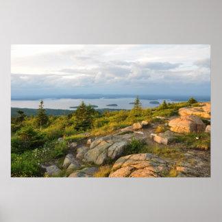 キャデラック山のアカディア国立公園ポスター ポスター