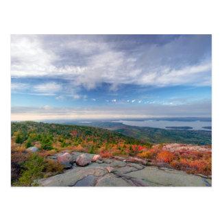 キャデラック山の眺め ポストカード