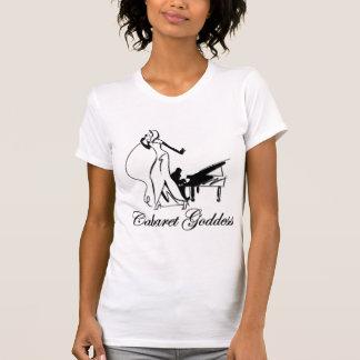 キャバレーの女神のライトのTシャツ Tシャツ