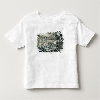 キャバレーdu Chat Noir 1886年 トドラーTシャツ