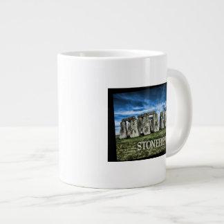 キャプションStonehengeのStonehengeのイメージ ジャンボコーヒーマグカップ