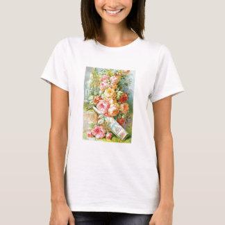 キャベツバラが付いているフロリダ水ケルン Tシャツ