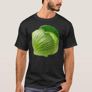キャベツ人の基本的な暗いTシャツ Tシャツ