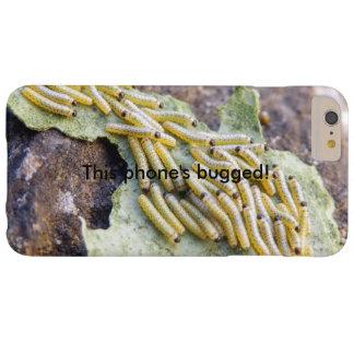 キャベツ白の幼虫はiPhoneの場合を煩わせました Barely There iPhone 6 Plus ケース