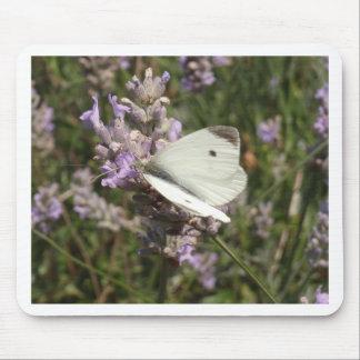 キャベツ白の蝶 マウスパッド