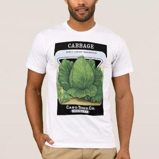 キャベツ種の包みのラベル Tシャツ