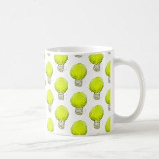 キャベツ電球パターン コーヒーマグカップ
