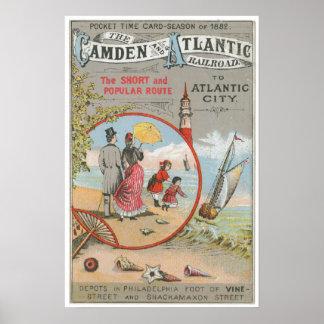 キャムデンおよび大西洋の鉄道ポスター ポスター