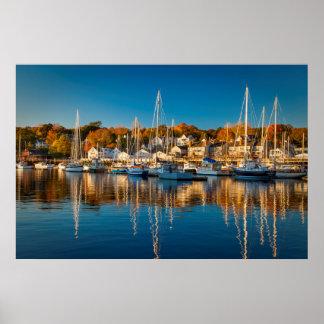 キャムデン港の秋の朝、キャムデン2 ポスター