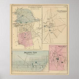 キャムデン、アトランティック・シティ、WoodburyのMtのヒイラギ ポスター