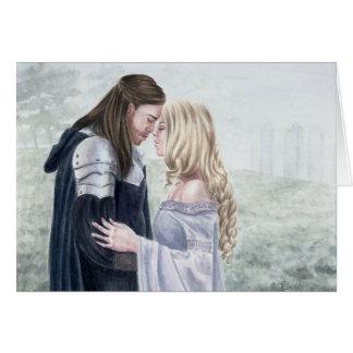 キャメロットはDeanna Bachの芸術によって接吻します カード