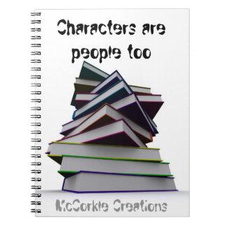 キャラクターのノート ノートブック